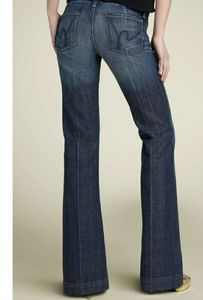Citizens of Humanity Faye Low Waist Full Leg Jeans